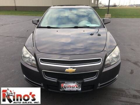 2011 Chevrolet Malibu for sale at Rino's Auto Sales in Celina OH
