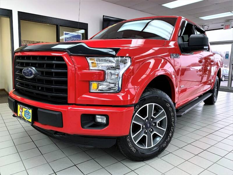2016 Ford F-150 for sale at SAINT CHARLES MOTORCARS in Saint Charles IL
