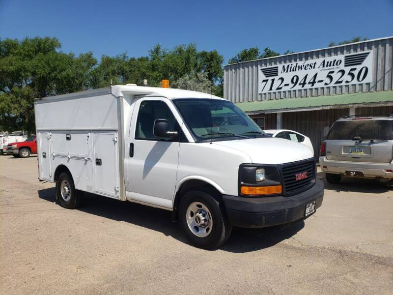 2008 GMC Savana Cutaway for sale at Midwest Auto of Siouxland, INC in Lawton IA