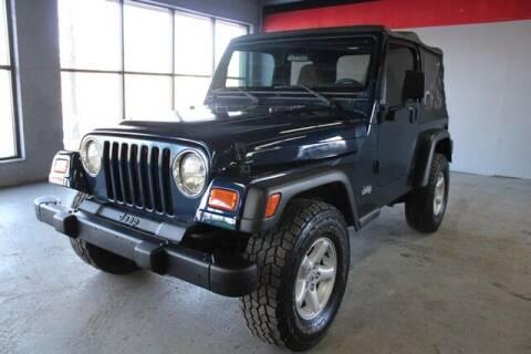 2002 Jeep Wrangler for sale at Road Runner Auto Sales WAYNE in Wayne MI