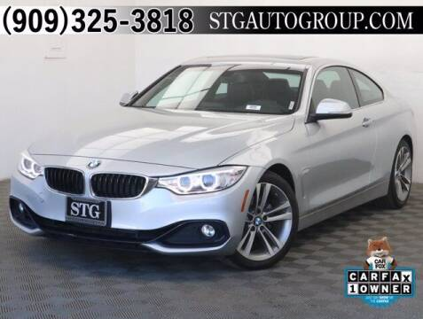 2016 BMW 4 Series for sale at STG Auto Group in Montclair CA