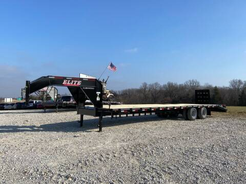 2021 Elite 35' Deck Over Gooseneck for sale at Ken's Auto Sales & Repairs in New Bloomfield MO