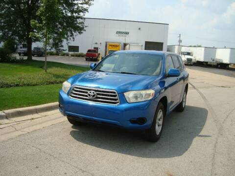 2008 Toyota Highlander for sale at ARIANA MOTORS INC in Addison IL