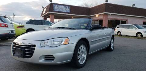 2004 Chrysler Sebring for sale at Central 1 Auto Brokers in Virginia Beach VA