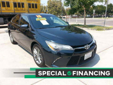 2015 Toyota Camry for sale at Super Cars Sales Inc #1 in Oakdale CA