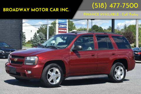 2008 Chevrolet TrailBlazer for sale at Broadway Motor Car Inc. in Rensselaer NY