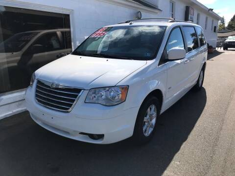 2008 Chrysler Town and Country for sale at Chilson-Wilcox Inc Lawrenceville in Lawrenceville PA
