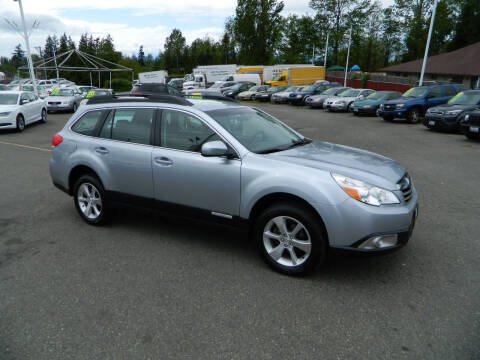 2012 Subaru Outback for sale at J & R Motorsports in Lynnwood WA