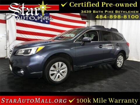 2017 Subaru Outback for sale at STAR AUTO MALL 512 in Bethlehem PA