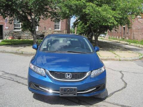 2013 Honda Civic for sale at EBN Auto Sales in Lowell MA