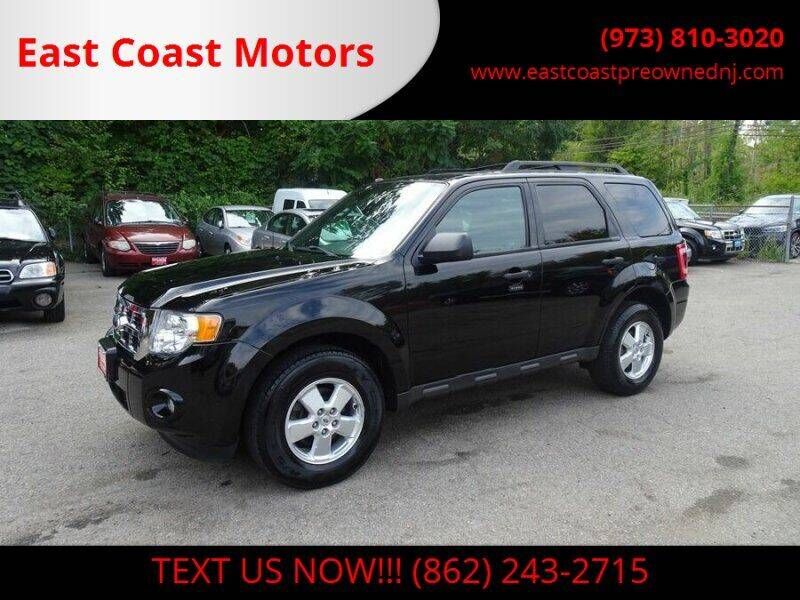 2012 Ford Escape for sale at East Coast Motors in Lake Hopatcong NJ