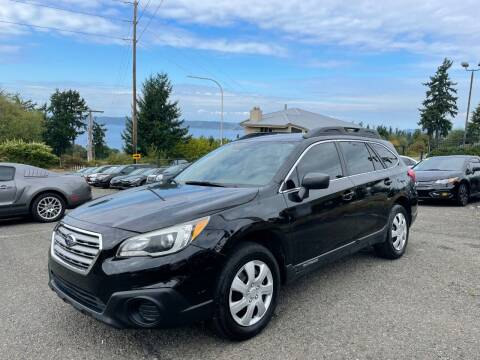 2015 Subaru Outback for sale at KARMA AUTO SALES in Federal Way WA