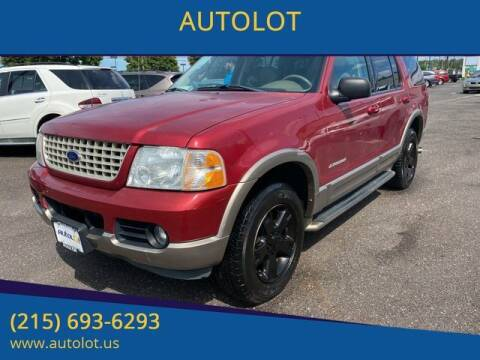2004 Ford Explorer for sale at AUTOLOT in Bristol PA