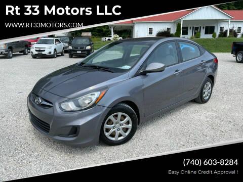 2014 Hyundai Accent for sale at Rt 33 Motors LLC in Rockbridge OH