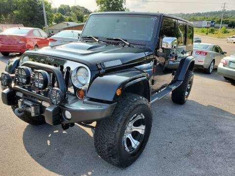 2010 Jeep Wrangler Unlimited for sale at DISCOUNT AUTO SALES in Johnson City TN