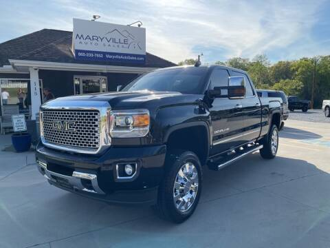 2016 GMC Sierra 2500HD for sale at Maryville Auto Sales in Maryville TN