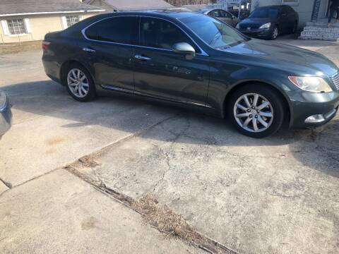 2008 Lexus LS 460 for sale at Moore's Motors in Durham NC