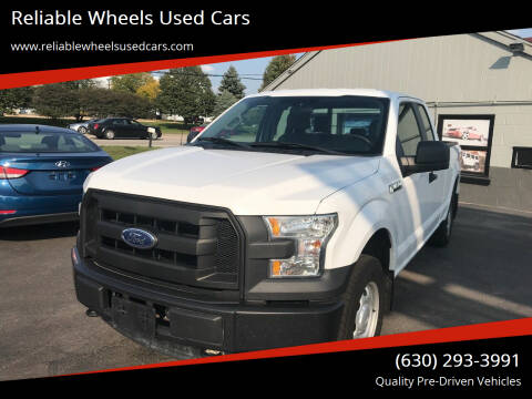 2017 Ford F-150 for sale at Reliable Wheels Used Cars in West Chicago IL