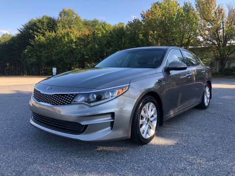 2016 Kia Optima for sale at Triple A's Motors in Greensboro NC