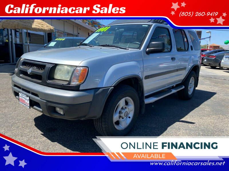 2001 Nissan Xterra for sale at Californiacar Sales in Santa Maria CA