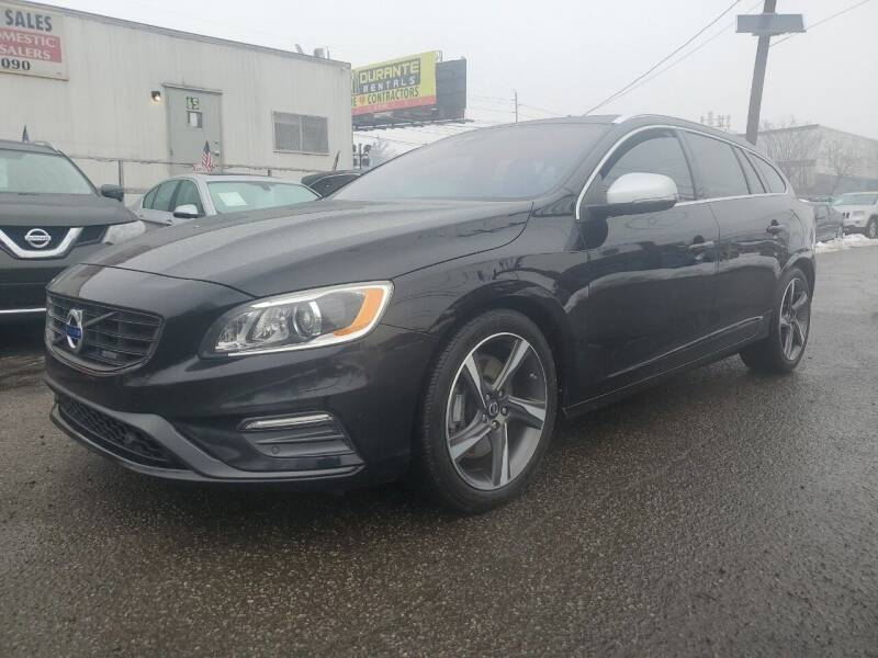 2015 Volvo V60 for sale at MENNE AUTO SALES in Hasbrouck Heights NJ