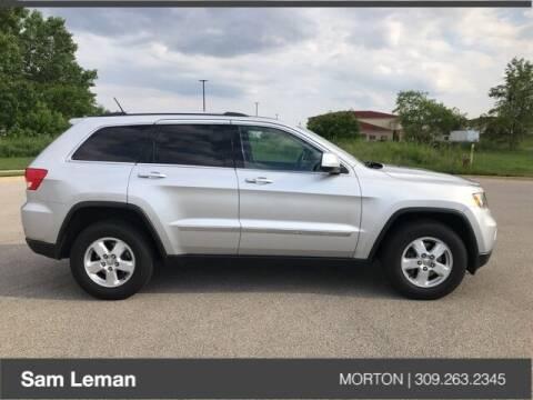 2013 Jeep Grand Cherokee for sale at Sam Leman CDJRF Morton in Morton IL