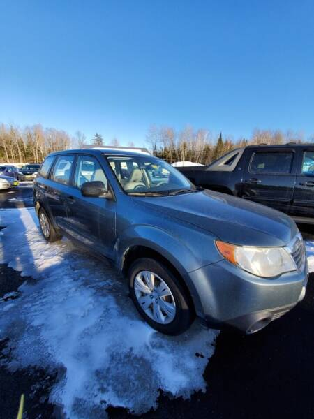 2009 Subaru Forester for sale at Jeff's Sales & Service in Presque Isle ME