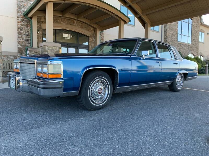 1987 Cadillac Brougham for sale at Waltz Sales LLC in Gap PA