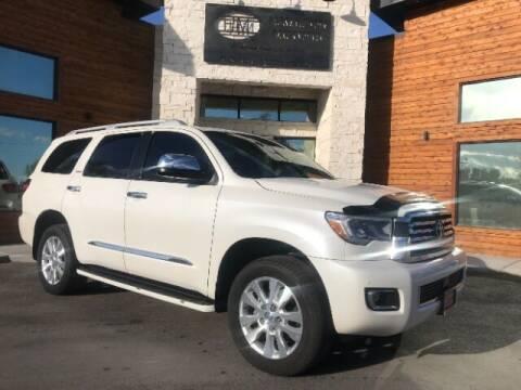 2018 Toyota Sequoia for sale at Hamilton Motors in Lehi UT