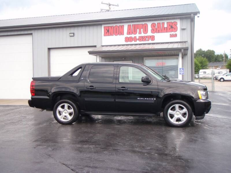 2009 Chevrolet Avalanche for sale at ENON AUTO SALES in Enon OH