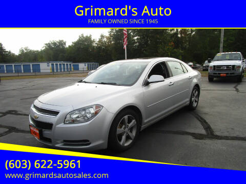 2014 Chevrolet Cruze for sale at Grimard's Auto in Hooksett, NH