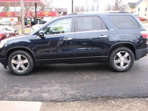 2012 GMC Acadia for sale at Nelson Auto Sales in Toulon IL
