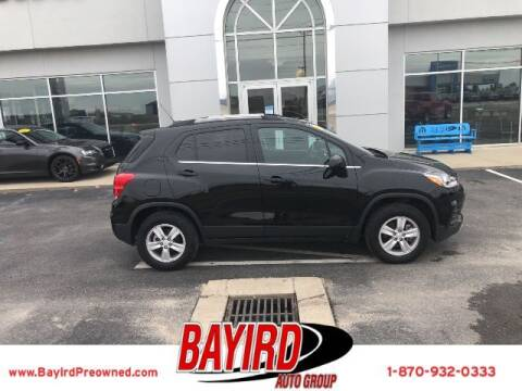 2019 Chevrolet Trax for sale at Bayird Truck Center in Paragould AR