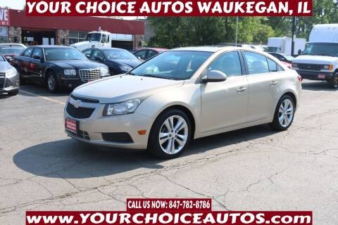 2011 Chevrolet Cruze for sale at Your Choice Autos - Waukegan in Waukegan IL