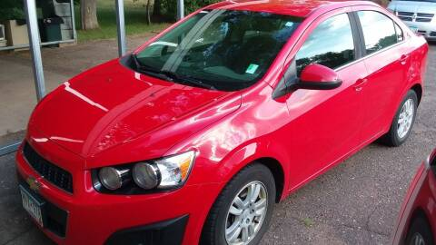 2013 Chevrolet Sonic for sale at Sunrise Auto Sales in Stacy MN