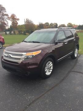 2011 Ford Explorer for sale at Hines Auto Sales in Marlette MI