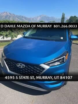 2020 Hyundai Tucson for sale at D DAHLE MAZDA OF MURRAY in Salt Lake City UT