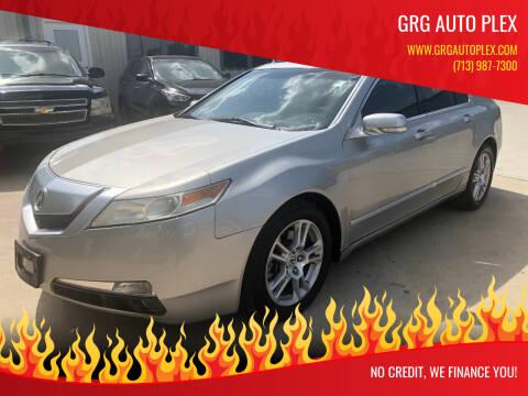 2010 Acura TL for sale at GRG Auto Plex in Houston TX