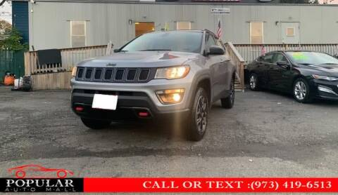 2019 Jeep Compass for sale at Popular Auto Mall Inc in Newark NJ