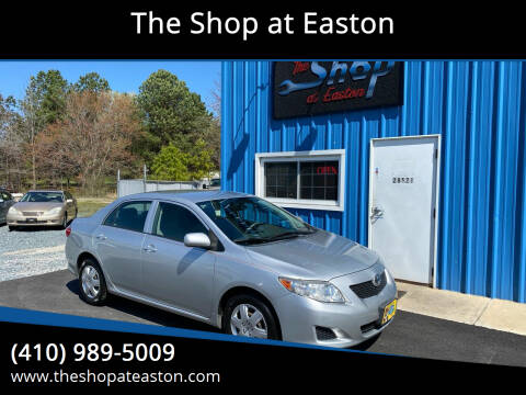 2009 Toyota Corolla for sale at The Shop at Easton in Easton MD