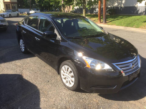 2015 Nissan Sentra for sale at UNION AUTO SALES in Vauxhall NJ