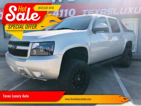 2007 Chevrolet Avalanche for sale at Texas Luxury Auto in Cedar Hill TX
