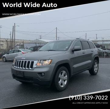 2013 Jeep Grand Cherokee for sale at World Wide Auto in Fayetteville NC