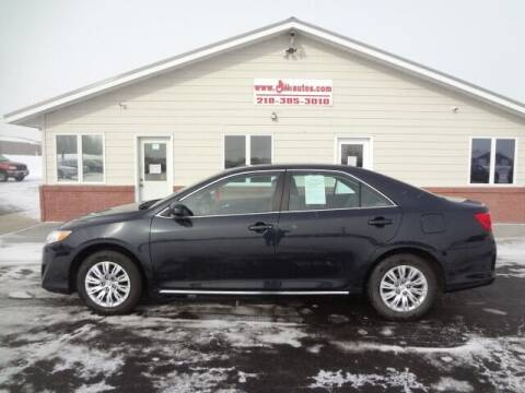 2013 Toyota Camry for sale at GIBB'S 10 SALES LLC in New York Mills MN
