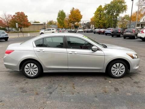 2009 Honda Accord for sale at Jacobs Motors LLC in Bellefontaine OH