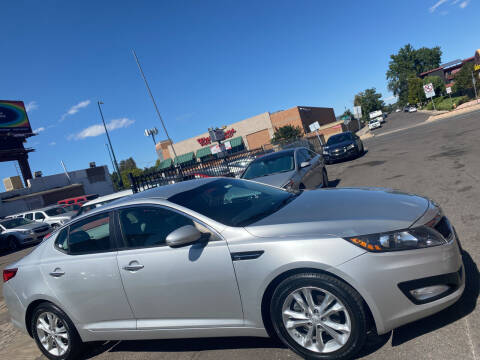 2013 Kia Optima for sale at Sanaa Auto Sales LLC in Denver CO