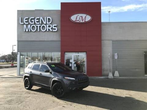2016 Jeep Cherokee for sale at Legend Motors of Detroit - Legend Motors of Ferndale in Ferndale MI