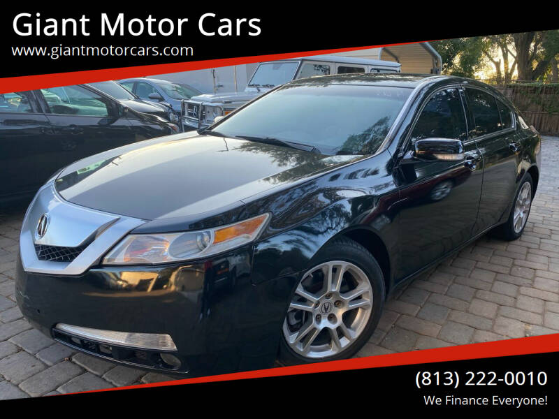 2010 Acura TL for sale at Giant Motor Cars in Tampa FL