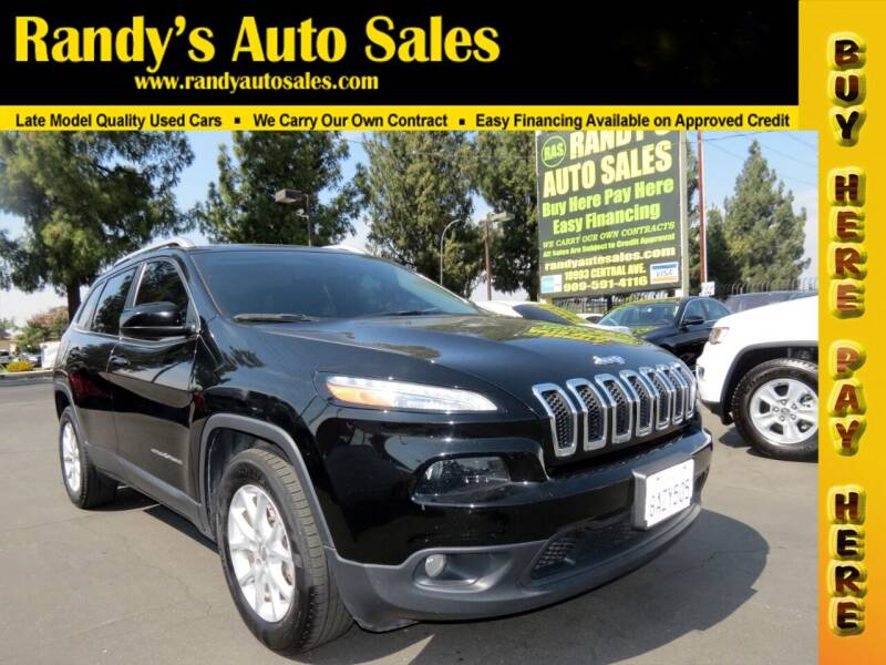 2018 Jeep Cherokee for sale at Randy's Auto Sales in Ontario CA