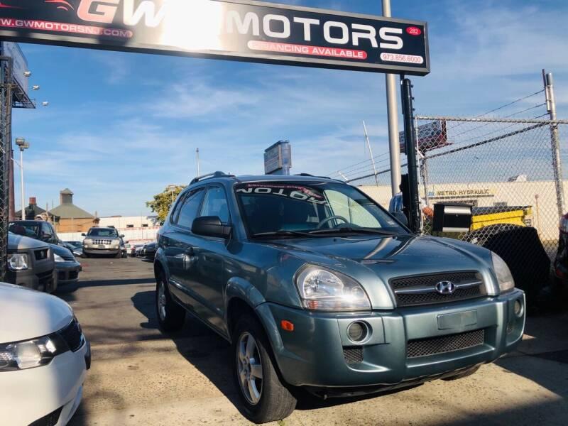 2007 Hyundai Tucson for sale at GW MOTORS in Newark NJ